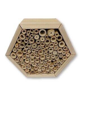 Insect Wooden Hotel Nest Home Bee Keeping Bug Ladybird Garden Pollination Box 11