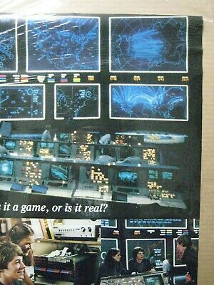 Vintage Poster WarGame Mathew Broderick Movie 1983 Inv#G4801 2