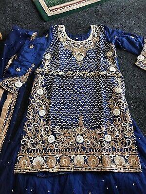Designer Salwar Shalwar Kameez Indian Asian Bridal Lengha Suit Pakistani 5