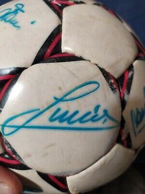 Pallone originale AC MILAN Select 1989/90 AUTOGRAFATO! 9
