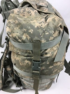MOLLE II ACU Large Rucksack Field Pack Complete w/ Frame US Military Army VGC 3