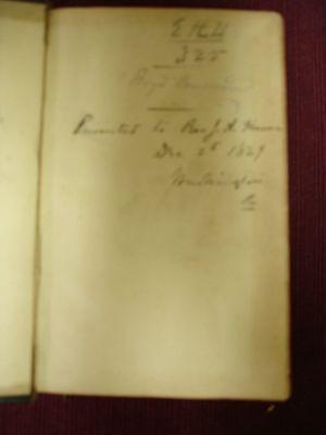 The Polymicrian Greek Lexicon to the New Testament - 1850 Circa 2 • CAD $315.00