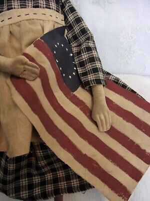 PATTERN,Sewing,Primitive dolls,Americana,Betsy Ross, Dumplinragamuffin, #290 4