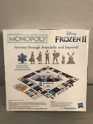 Monopoly Game: Disney Frozen 2 Edition Board Game for Ages 8 and Up NEW 3