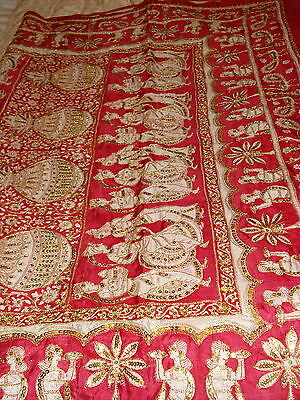 Ladies Indian Pure Silk Saree With Zari Work 11