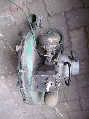 gebrauchter oldtimer Original Holder Spritze Rückenspritze Benzin Motor Bj 1960 3