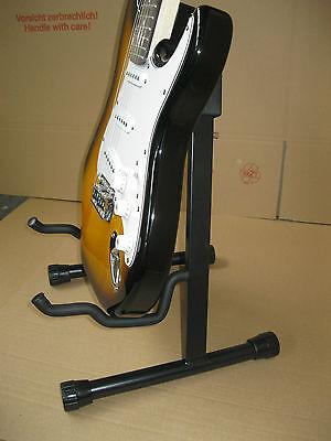 Universal Gitarrenständer - E-Gitarre - Akustik - Konzert - Bass - Klappbar -Gs3 11
