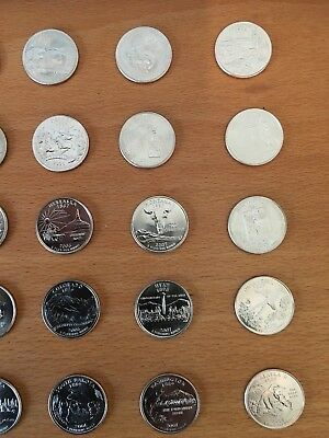 PICK ANY OF THE 50 US STATE QUARTERS P or D mint - UNCIRCULATED 6