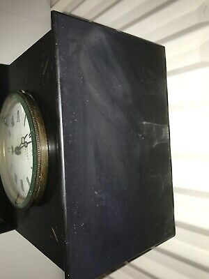 maple & co limited Paris slate marble clock 5