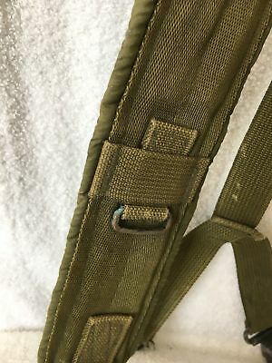 US Military Alice Y SUSPENDERS LBE Load Bearing Shoulder Web Harness OD Fair 4