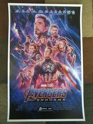 """Avengers -  Endgame ( 11"""" x 17"""" ) Movie Collector's Poster Print ( T2 )- B2G1F 2"""