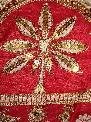 Ladies Indian Pure Silk Saree With Zari Work 8
