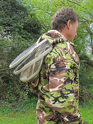 PREMIUM QUALITY Bee Suit Fencing Veil Style - Camo. All Sizes 2