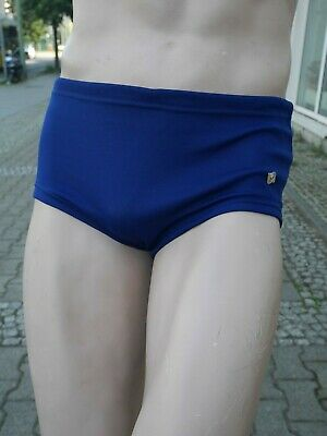 SEEADLER Badehose Grisuten Gr. 7 blau 70er TRUE VINTAGE 70s swimming trunks 4