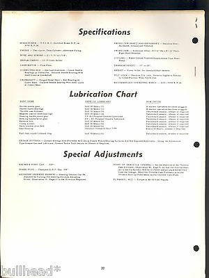 1969 CHRYSLER  9.9HP OUTBOARD  MOTOR PARTS MANUAL OB 1155