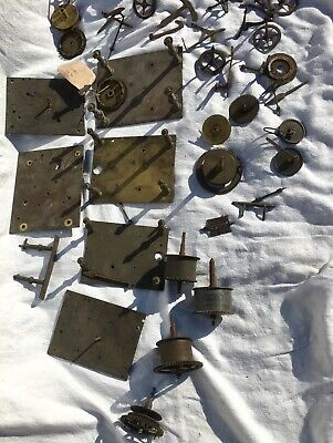A Very Large Assortment Of Longcase Grandfather Clock Parts 2