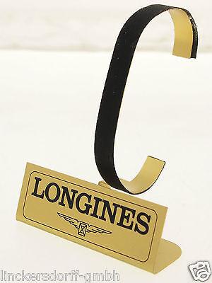 Longines Uhrenständer / Aufsteller / Display - Messing Vergoldet