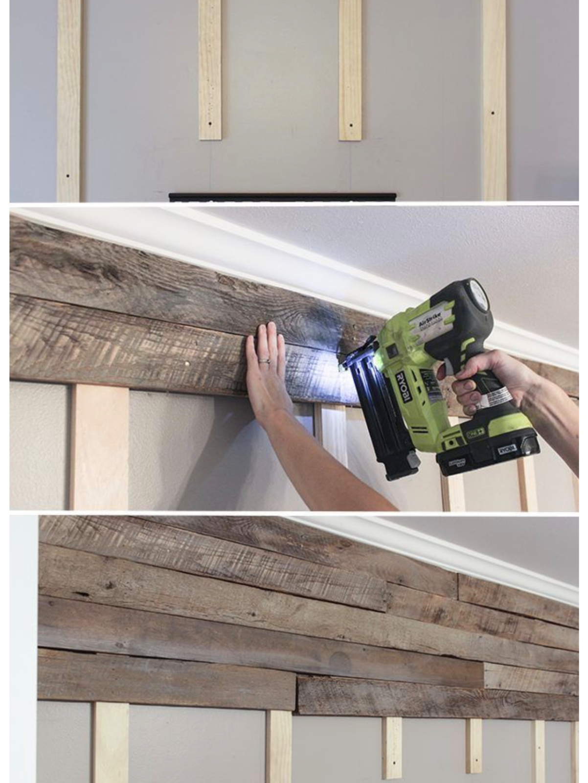 """King Size Bed Reclaimed Pallet wood DIY Rustic Headboard 78/"""" wide x 60/"""" tall"""