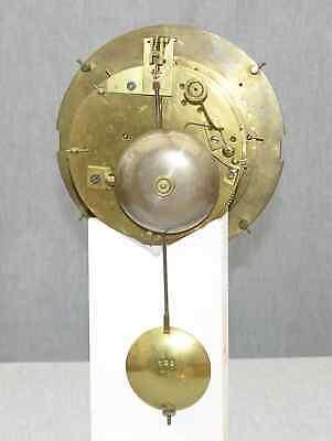 Huge 1869 Victorian Clock, 14-day Marti Movement, Visible Brocot Escapement 12
