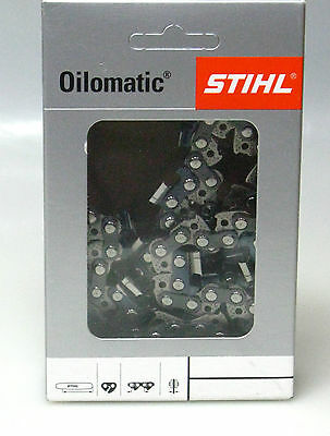 """Stihl 2xSägekette 45 cm 3//8/"""" 1,6 mm 66 Glieder Vollmeißel RS 3621 000 0066"""