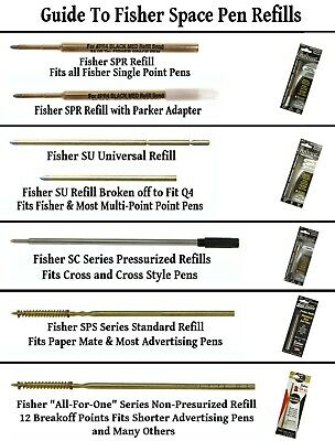 One Fisher Lacquered Bullet Space Pen / Your Choice of Color 12