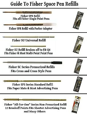 Fisher Space Pen #M4RAW / Raw Brass Cap-O-Matic Ballpoint Pen 11