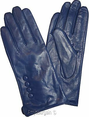 Leather gloves. Size S, M, L, XL. Woman's Leather  winter Gloves. Dress Gloves. 8