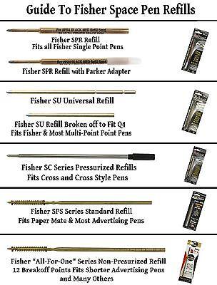 Fisher Space Pen # 400BCL / Classic Matte Black Bullet Pen with Clip 12