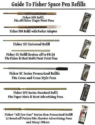 Fisher Space Pen #S251-BLUE / Apollo Series Pen in Blue & Chrome 9