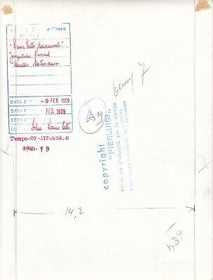 """©Pierluigi 1959, Marcello Mastroianni et divers """"TUTTI INNAMORATI"""" 6 tirages 6"""