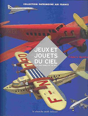 """""""AVIONS-JOUETS des origines a 1945""""  Blechspielzeug-Flugzeuge, LIKE NEW/NEU  !"""