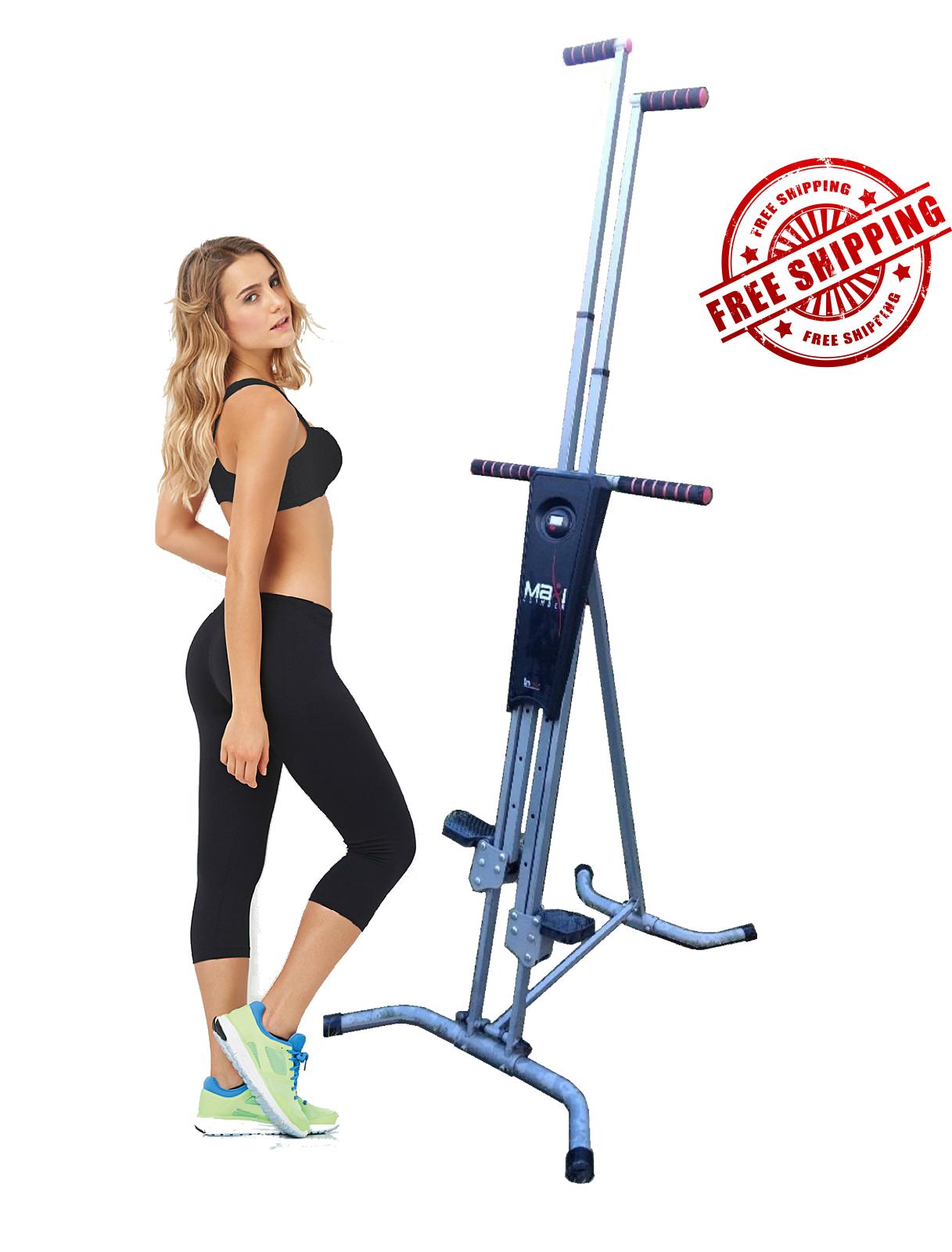 Maxi Climber Vertical Climber w Monitor, Diet Menu, Exercise Manual 2
