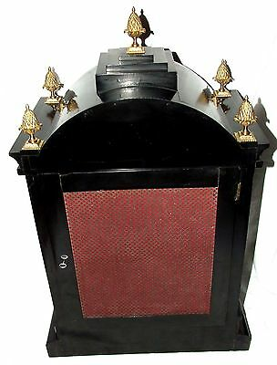 Massive Triple FUSEE Musical Mantel Bracket Clock on 8 Bells & Westminster Chime 10