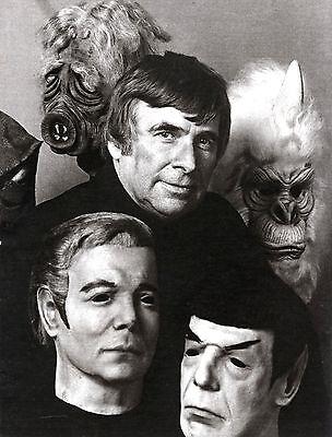 Leonard Nimoy Life Mask from 1975 Don Post Studios Spock Mask not Kirk 75 Myers 3