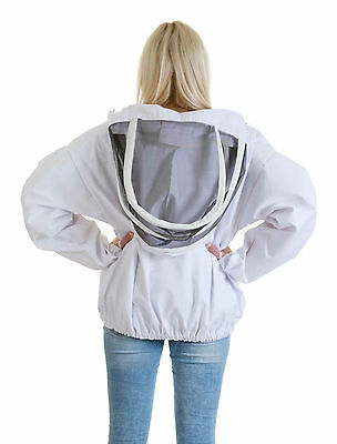Buzz Beekeepers Bee Jacket/Tunic  (Pullover style with fencing veil) - ALL SIZES 4