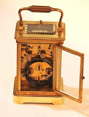 Very fine French Repeating Carriage Clock. in good conditions 4