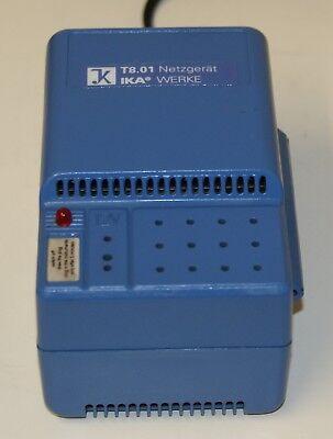 IKA T8 HOMOGENIZER & T8 01 Power Supply