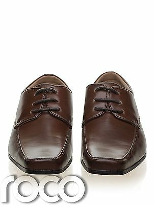7511e46b3f7dcc ... Boys Dark Brown Shoes