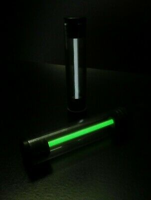 GREEN ULTIMATE Glow Stick No Recharging Needed!! Glows Non Stop For Decades