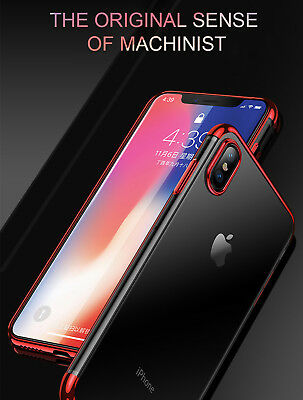 Luxury Ultra Slim Shockproof Silicone Clear Case Thin Cover For Apple iPhone XR 2