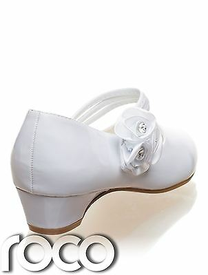 Girls White Shoes Communion Shoes Prom Shoes Flower Girl