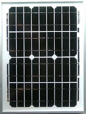 10w 10 watt solar panel + bracket kit suit camper van motorhome VW camper shed 3