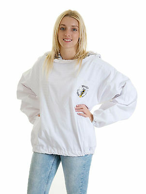 Buzz Beekeepers Bee Jacket/Tunic  (Pullover style with fencing veil) - ALL SIZES 3