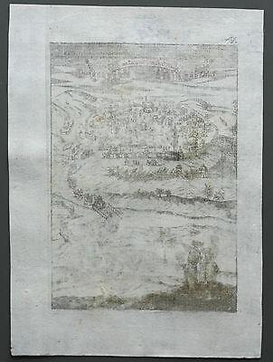 Jerusalem - Ansicht von Alain Manesson Mallet - Original von 1720