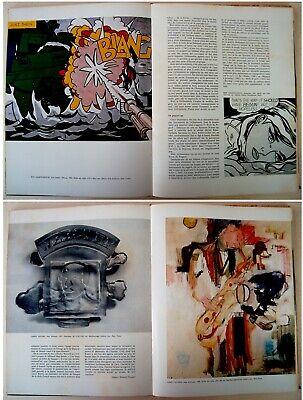 1973 Fine ROBERT INDIANA & HANS HARTUNG original LITHOGRAPHS XX Siecle ART BOOK 7