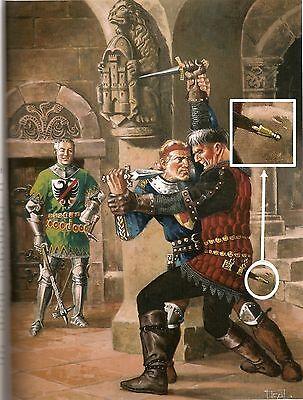 Medieval Xvi Century End Dagger Knife Seath Helmet Shaped 16Th 2