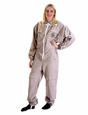 Lightweight BUZZ Beekeepers Bee suit - Colour latte, Size: SMALL 2
