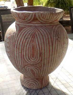 Antique, 400 BC-200 AD Thai Ban Chiang Earthenware Jar with Book 2