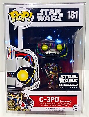 """60 FUNKO POP! Box Protectors For 4"""" Vinyl Figures  Crystal Clear Display Cases 3"""