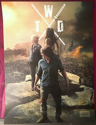 TWD The Walking Dead NYCC 2019 Limited Edition Poster - Darryl, Carol, Michonne 2
